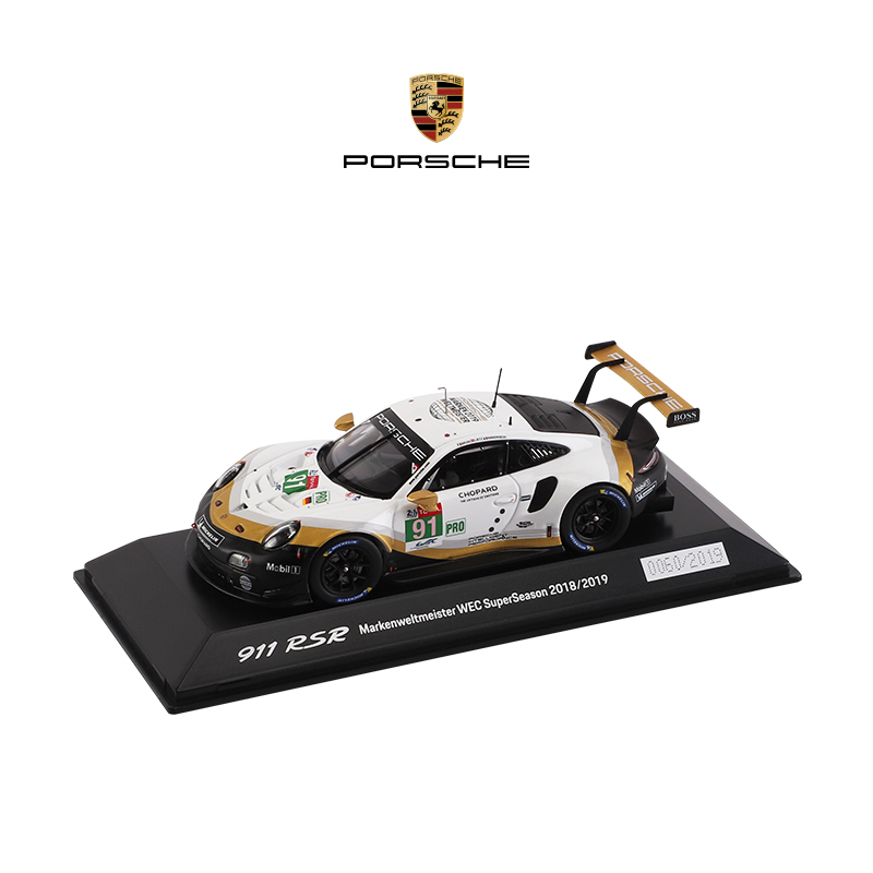 (Official) Porsche 911 RSR 1:43 Limited Edition Model