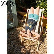 Zara new children's wear girls new towel casual shorts in spring and summer 05431610402