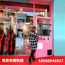 Industrial wind iron container door automatic vending machine door net red Coin machine Creative Bar KTV shake the same section