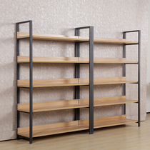 Shelf shoe store display cosmetic display stand simple wrought iron multi-layer floor shelf free combination home