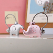 Millers couple keychain pair icon key ring creative chain car pendant cartoon cute doll
