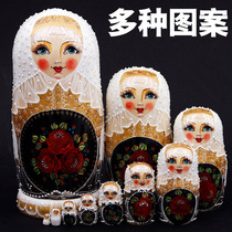 Russian craft specialty 10-storey set Eva authentic Harbin tourism gift creative opening wedding gift decoration