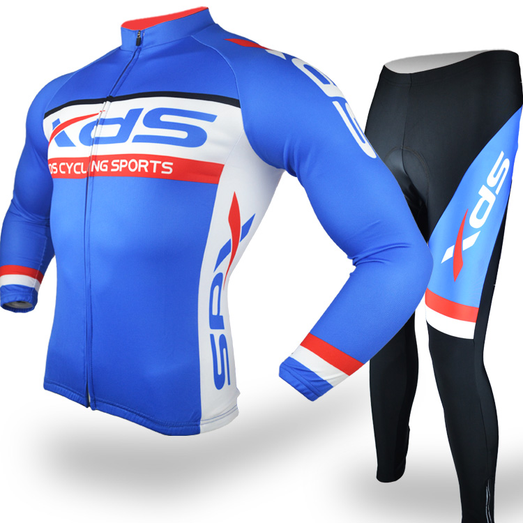 Spring and Autumn Summer Xide Sheng XDS Team Edition Quick-drying Jersey Long Sleeve Set Men and women Mountain Bike Team Edition