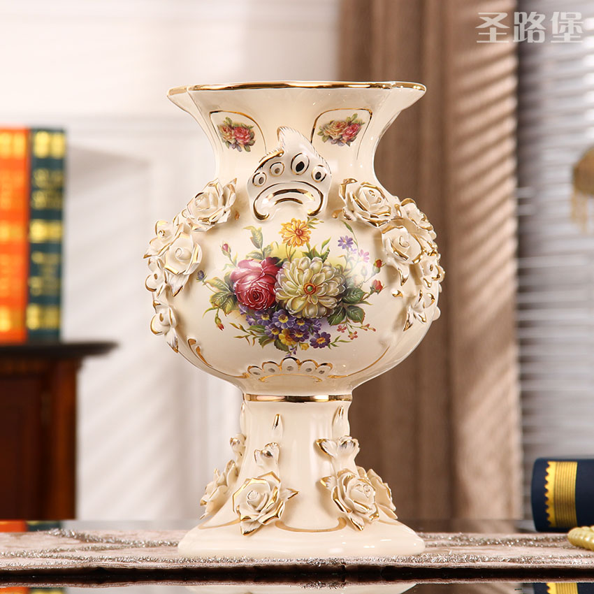 European Vase Decoration living room flower arrangement household tea table flower arrangement vase household decoration TV cabinet vase