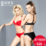 Van de 2017 new bikinis steel holder slim slim female sexy swimsuit gather holiday swimsuit