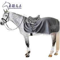 British riding equipment European tail single training horse clothes absorb moisture sweating autumn and winter riding special horse blanket equestrian.