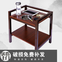 High-grade mahjong machine tea table Tea stand Chess room tea house special accessories Mahjong table next to the corner of the table Small coffee table