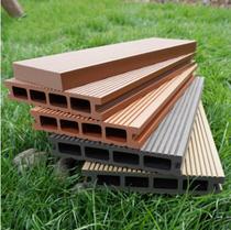 Plastic wood plastic outdoor long floor outdoor flooring courtyard Outdoor garden anticorrosive wood outdoor wood plastic plate