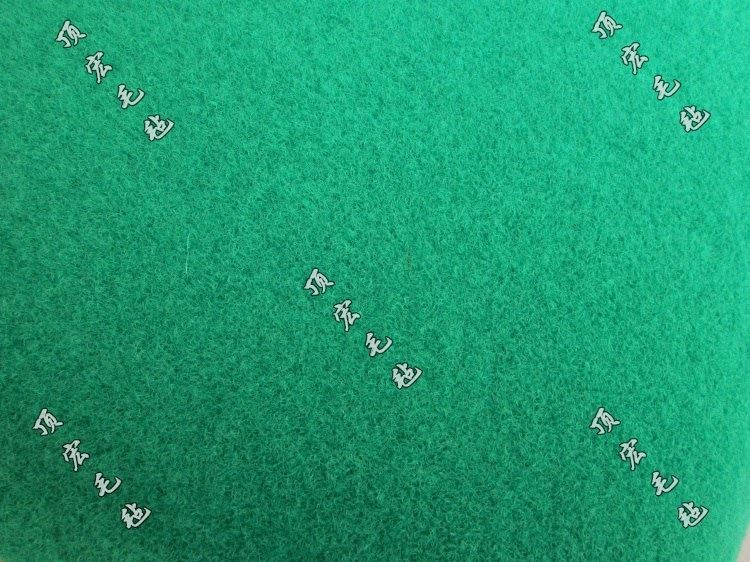 The new color pit-print background felt blanket eye-catching pad green table blanket felt desk tablecloth 2019