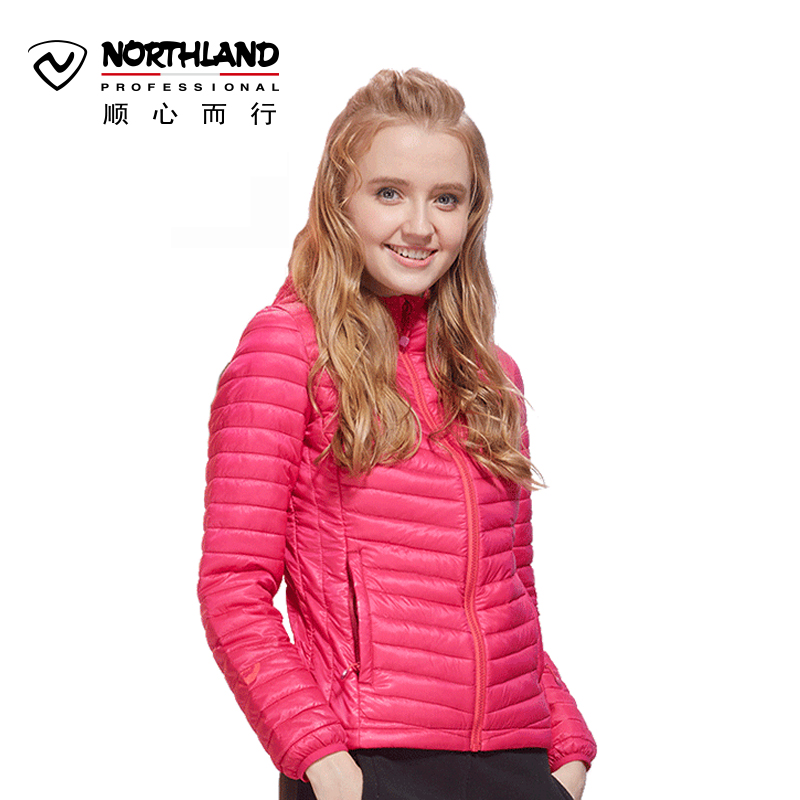 Norseland NORTHLAND autumn and winter outdoor down jacket women goose down light warm windproof jacket GD042620