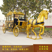 European Carriage Wedding Photography Sightseeing tour carriage Scenic Area Reception showroom exhibition Royal carriage