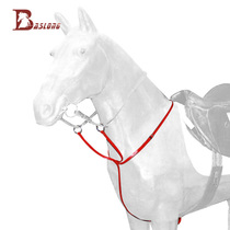 Horse Bow leather riding chest with PVC red convenient practical equestrian harness eight feet dragon