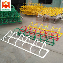 Bicycle electric car parking rack lock parking rack parking Space Placement Spiral card type round anti-theft cage