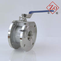 304 stainless steel cast steel ultra-thin clip-on ball valve Q71F-16P Italian style flanged ball valve DN5080