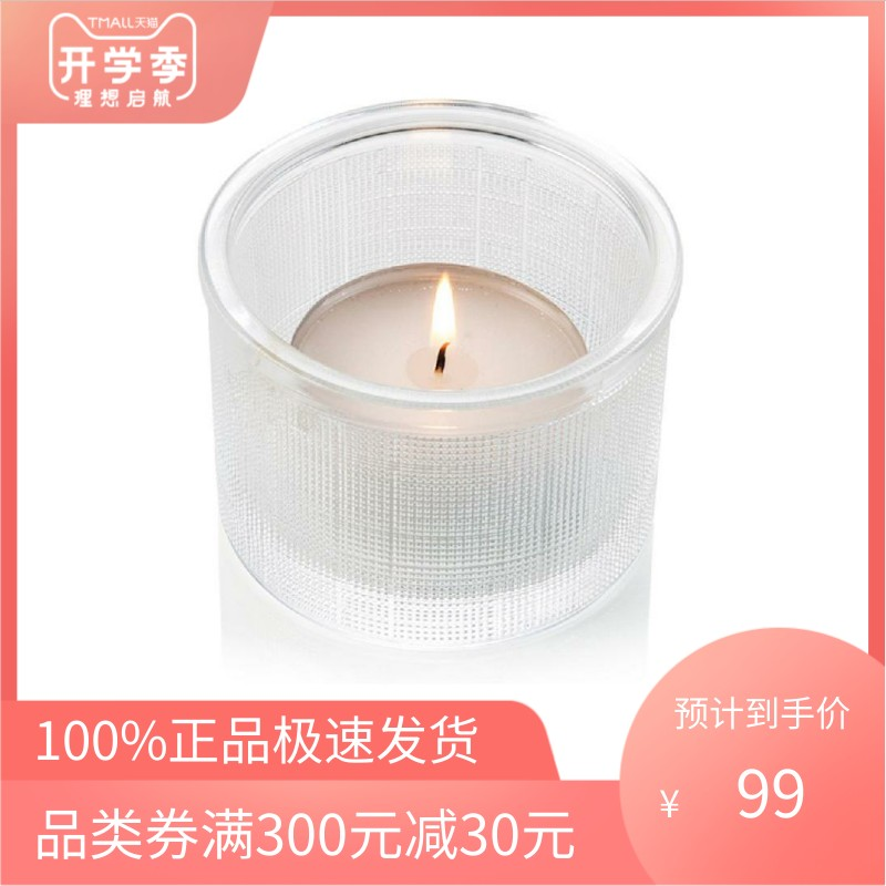 IVV transparent simple three-dimensional circular candlestick