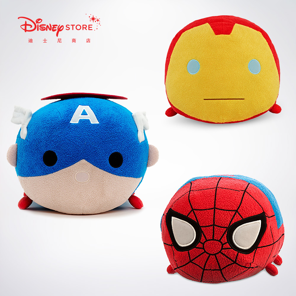 Disney Store Manway United States Captain Iron Man Spider-Man Plush Toy Boy Matsushita Edition