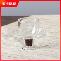 Hong built tea land drilling Tea Cup group Pure handmade glass heat-resistant smell Cup tasting cup owner drink cup