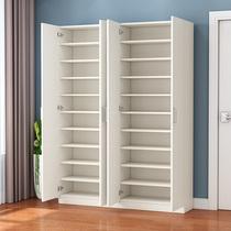 Yang Yu shoe cabinet modern simple home door large-capacity solid wood shoe rack shoe cabinet storage cabinet multi-functional hall cabinet