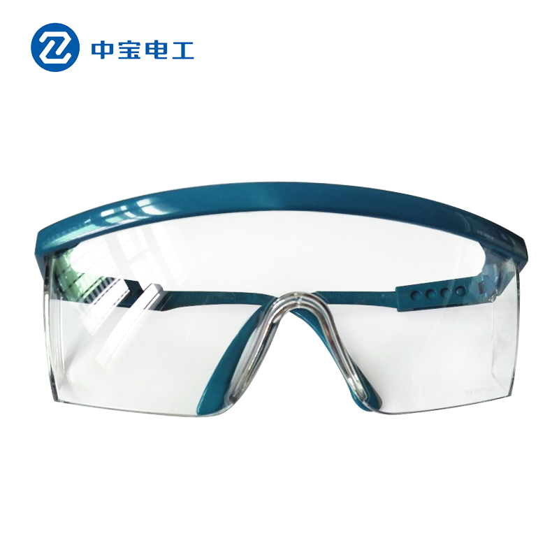 Zhongbao Electrical Safety Dust Impact Impact Wind Sand Labor Products Protective Glasses Protective Glasses Goggles