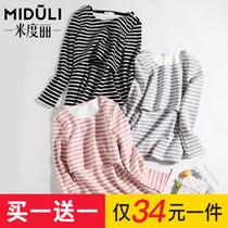 Кормление грудью осенняя одежда для кормления грудью из моды топы весна осень хлопок послеродовое кормление рубашка горячая мама весенняя одежда