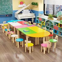 Школьники детский сад столы и стулья детские комбинированные столы для обучения раннему обучению рисованию учебные курсы для инструкторов школьные столы и стулья наборы