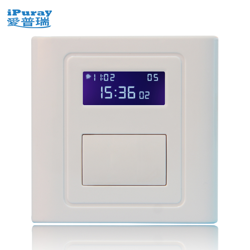 Epry 86 Multi-time Timer Advertising Board Bath Bath Disinfection Lamp Circulating Timing Switch Panel 408