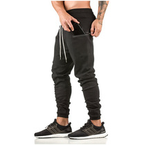 Autumn and winter muscle brother sports Pants Mens casual breathable trousers playing bottom pants running fitness training pants