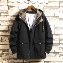 Jacket male spring functional tooling 2020 new trend Korean version of casual wear spring and autumn mens spring jacket