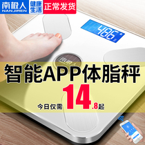 Antarctic electronic scale female dormitory small rechargeable body fat home intelligent precision body fat said
