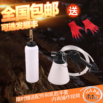 Pneumatic brake oil replacement machine brake fluid pumping filling device emptying tool single air replenishment operation tool