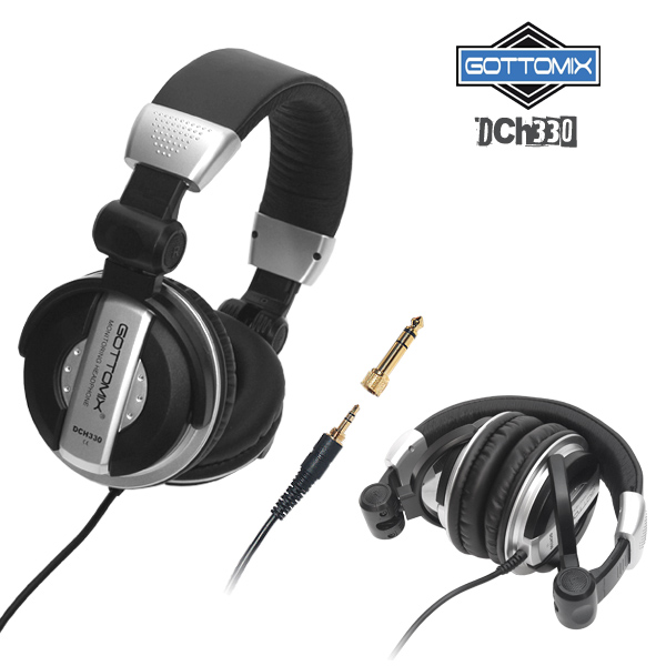Song monitor headphones GOTTOMIX-DCH330 recording headphones