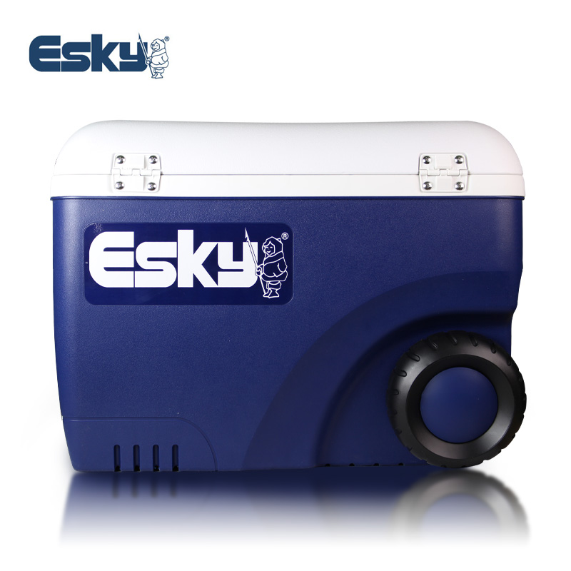 Esky Aiski car pu insulation box commercial 45L high efficiency version of the portable incubator with wheels to send ice bricks