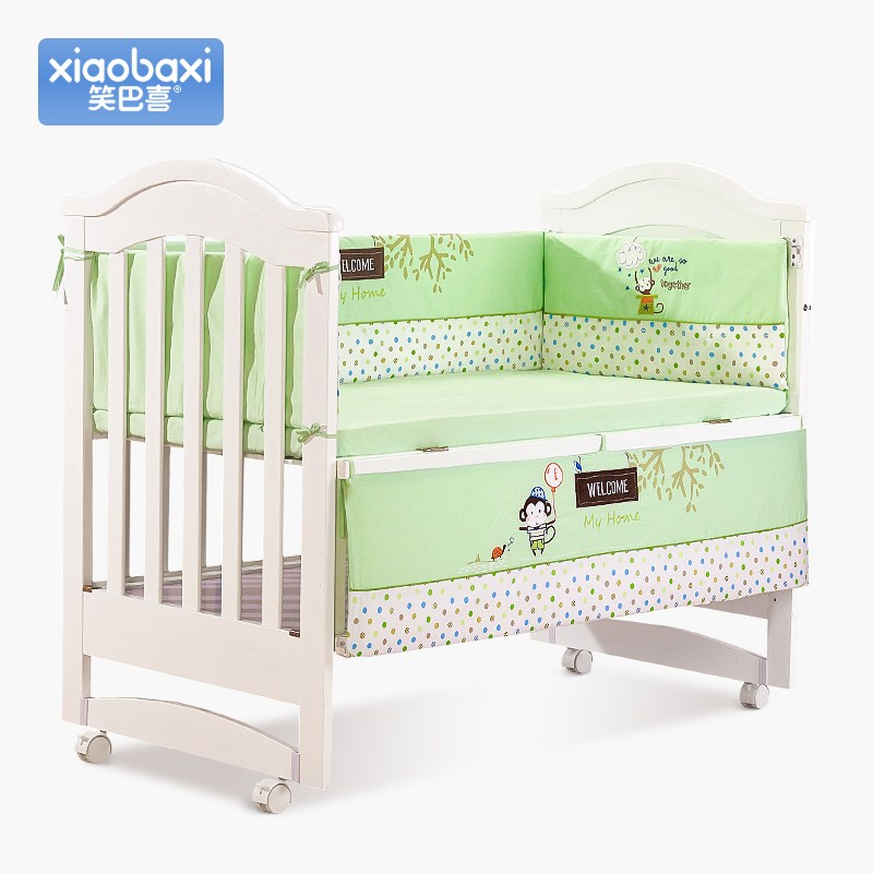 Energetic Crib Wai Summer General Thicken Breathable Newborn Bedding Removable Bed Wai Four Kits Reasonable Price Mother & Kids Activity & Gear