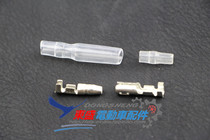 Electric Vehicle Accessories electric vehicle 4mm tin plated pure copper transparent soft sheath connector plug