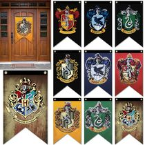 Foreign trade sources Harry Potter Game of Thrones house decor Banner Flag