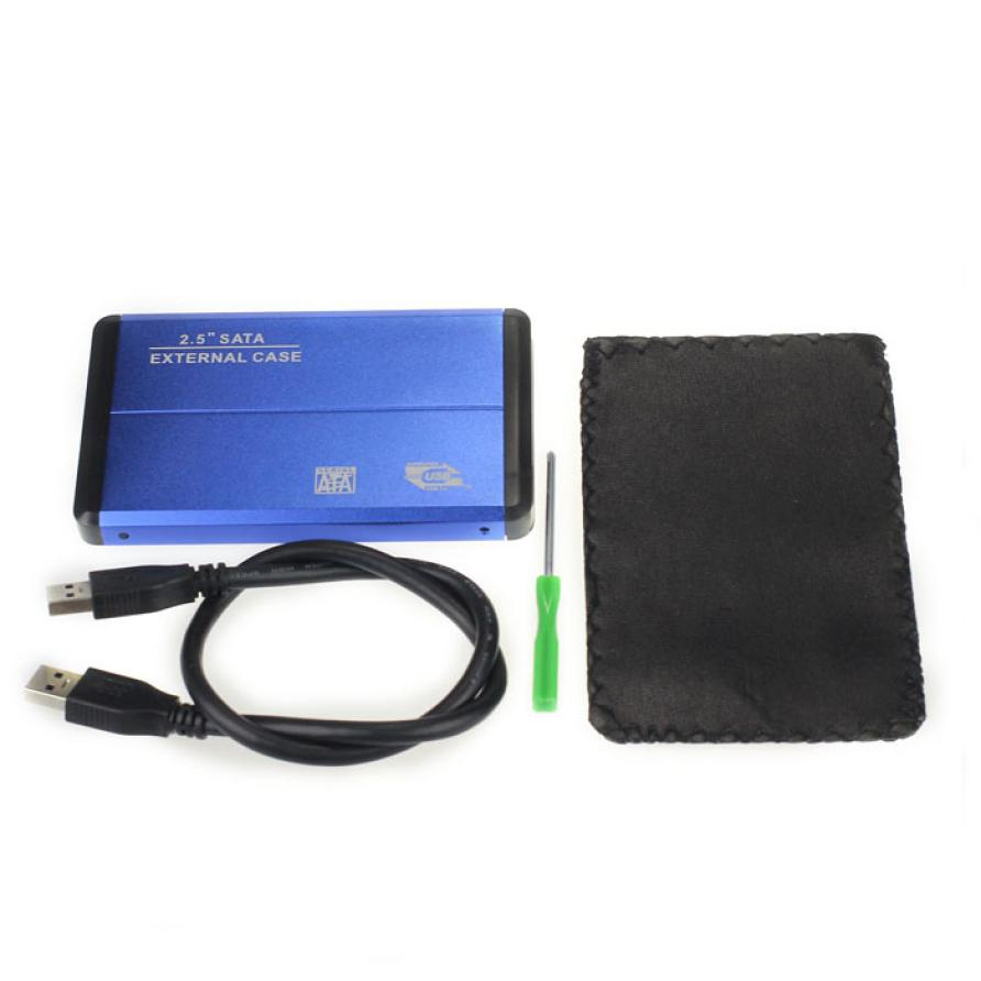 2.5 hard drive, Free Shipping 2.5 HDD SATA Hard Drive external case enclosur
