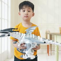 Electric remote control intelligent early Church talk dance dinosaur toy simulation animal Tyrannosaurus rex Child Boy Gift