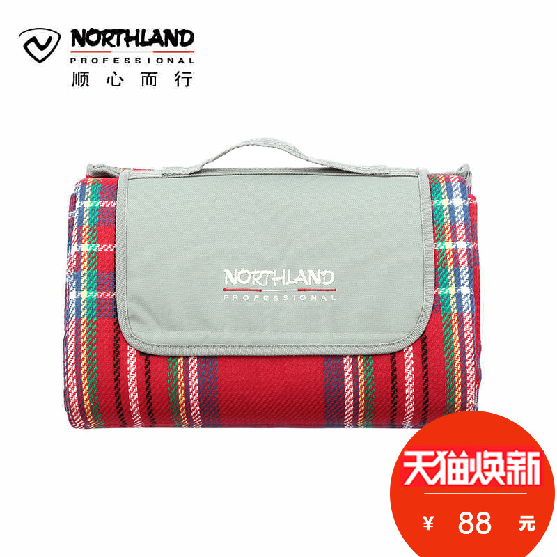 Norseland outdoor camping mats moisture-proof cloth back aluminum foil large size mat A990115