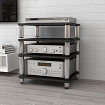 Amplifier cabinet office professional audio cabinet audio and video equipment equipment with drawer bookshelf hifi speaker shelf