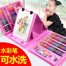 Акварельная ручка детская кисть для рисования набор для школьников нетоксичные моющиеся цветные ручки детский сад Акварель живопись карандаши