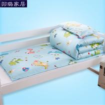 幼儿园被子三件套六件含芯可拆卸纯棉婴儿童午睡被褥全棉宝宝床品