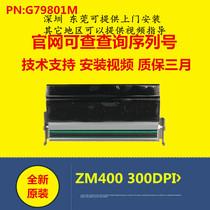 New original Zebra ZM400 300dpi print head ZM400 300-dot print head 79801M