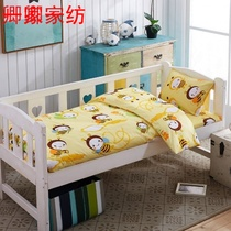 Three piece baby nursery quilts and six sets of busy little bees full cotton woven childrens spring and fall winter