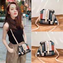 Ms. Texture Bag Up to the New Chaozhou Autumn-Winter Korean Version of Baitai ins Fashion Single Shoulder Slant Drum Bag in 2019