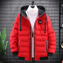 Cotton mens winter thickened Korean version of the trend cotton wool 2020 new winter cotton clothing tide brand coat bread clothing tide