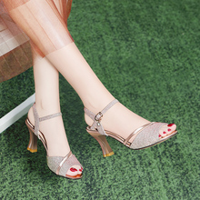 Fish-billed Sandals Women's Thick-heeled and Fine-heeled Fairy Wind High-heeled Shoes