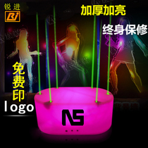 Bar Point stage laser jump stage dot stage beauty dot platform glowing flash move Gogo point jump Stage