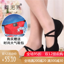 Dance the new belly dancing shoes with womens dance shoes soft bottom dancing shoes womens square dance shoes autumn Winter