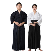 Mens and womens competition training kendo suit kendo suit cos shirt aikido trousers skirt HAKAMA kendo suit