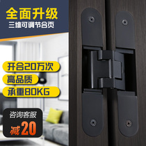 Boly Stealth hinge hidden wooden door background wall cross hinge door outside open invisible door fold